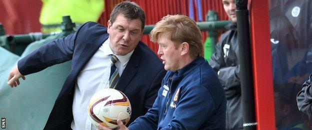 Tommy Wright and Stuart McCall