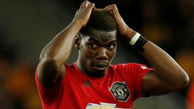 Wolves 1-1 Man Utd: Paul Pogba misses penalty at Molineux