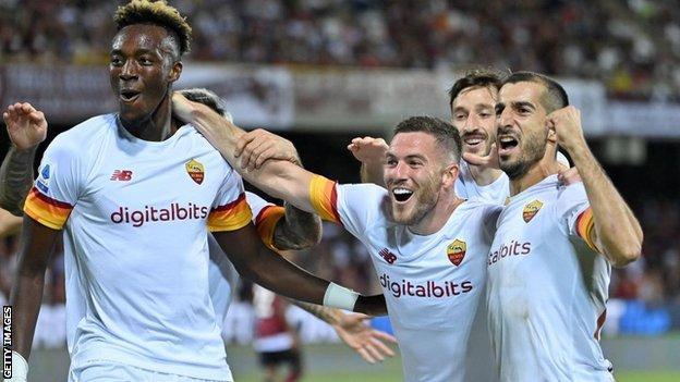 Salernitana 0-4 Roma: Tammy Abraham scores first Serie A goal for Jose  Mourinho's side - BBC Sport