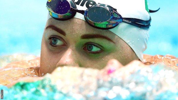 Northern Ireland swimmer Sycerika McMahon