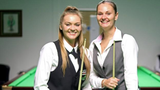 Snooker Shoot Out: Reanne Evans and Emma Parker ready for 'massive opportunity' thumbnail
