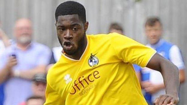 Nathan Blissett, who left Harriers for Bristol Rovers in November 2014, was loaned out to Torquay in January