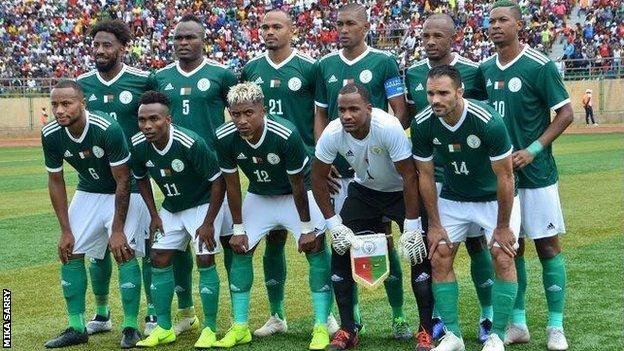 The Madagascar football team