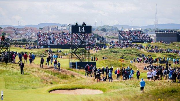 Royal Portrush staged last year's Open Championship