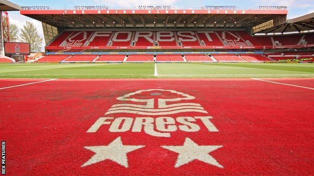 Nottingham Forest's City Ground