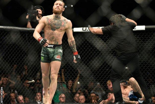 McGregor confirms January 2021 fight with Dustin Poirier