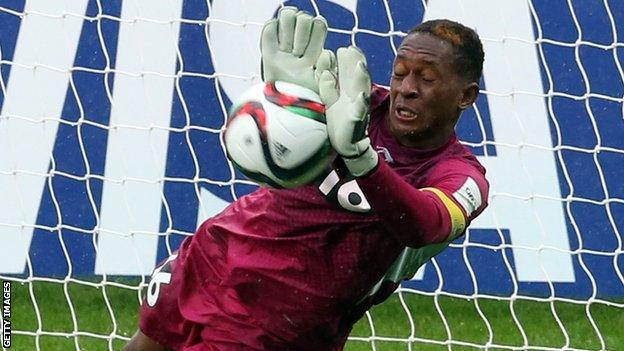 Mali goalkeeper Djigui Diarra