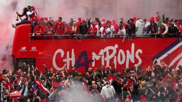 Lille Ligue 1 title parade