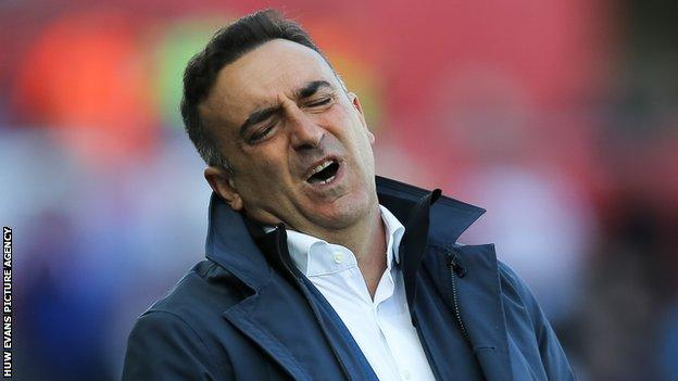 Carlos Carvalhal enjoyed initial success after being appointed Swansea manager but ultimately failed