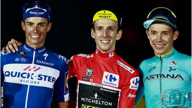Yates is the fourth British man to win a Grand Tour
