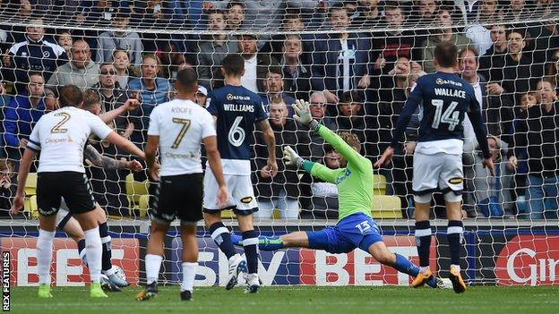 Aiden O'Brien's winner gave Millwall their second successive home win