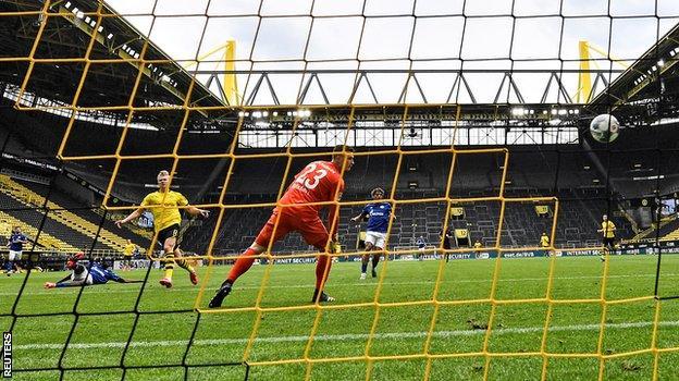 Haaland puts Dortmund ahead