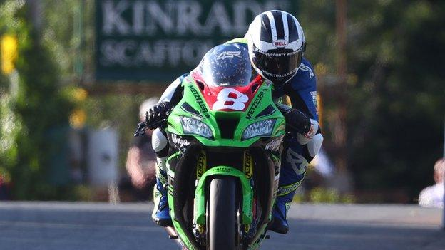 William Dunlop is still searching for a first TT victory of his career but has had five podium finishes