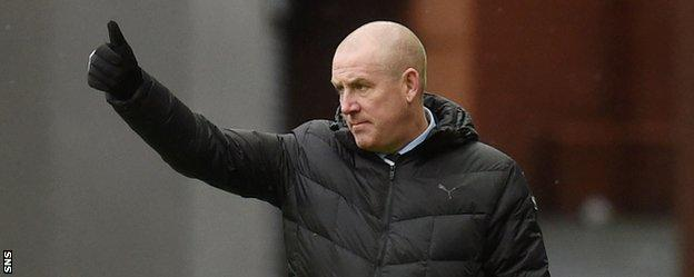 Warburton insists he will be staying at Rangers
