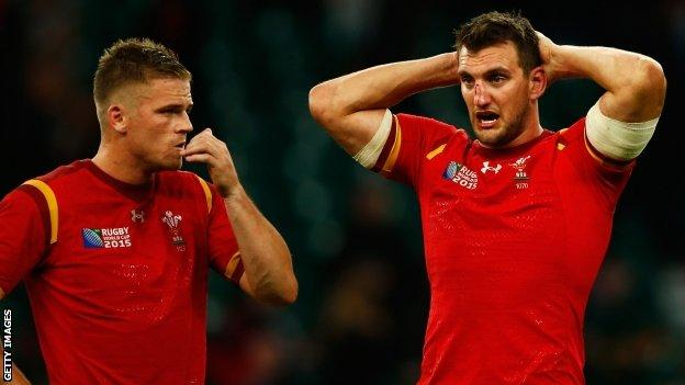Wales were behind 6-0 in the first 12 minutes but came agonisingly close to victory