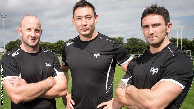 Brendon Leonard, Gareth Delve and Kristian Phillips have arrived over the summer