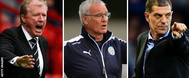 Steve McClaren, Claudio Ranieri and Slaven Bilic all return to the Premier League this season