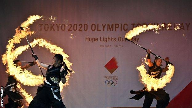 Olympic Torch ceremony