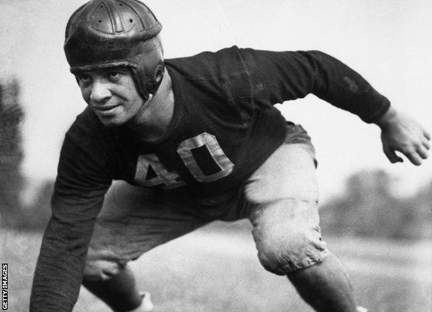 Vince Lombardi as a player