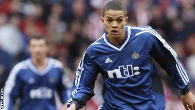 Jenas joined Newcastle as an 18-year-old in a £5m transfer from Nottingham Forest