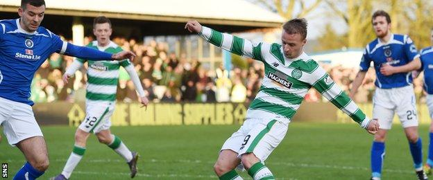 Leigh Griffiths fires home the opener