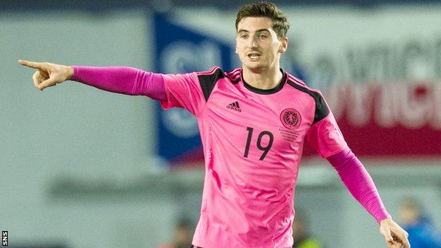Kenny McLean made his Scotland debut in the 1-0 win over Czech Republic