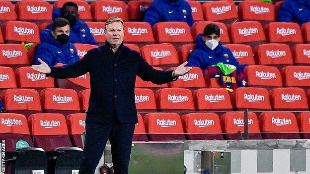 Athletic Bilbao v Barcelona: Ronald Koeman denies future ...