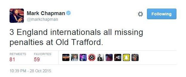 BBC Sport's Mark Chapman