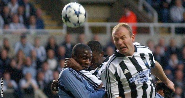 Alan Shearer is the Premier League's leading goalscorer with 260 goals for Blackburn and Newcastle, including 46 headers