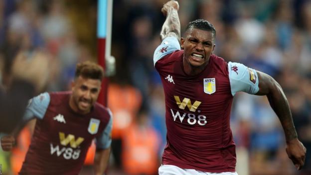 Aston Villa 2-0 Everton: Wesley & Anwar El Ghazi on target for hosts thumbnail
