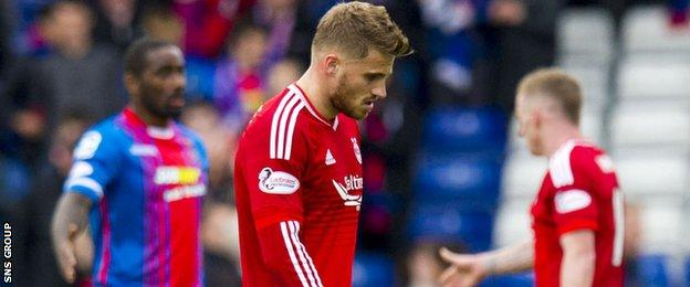 Aberdeen lost out to Inverness CT back in September
