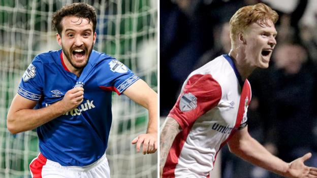 Linfield release four players including defenders Robinson and Casement