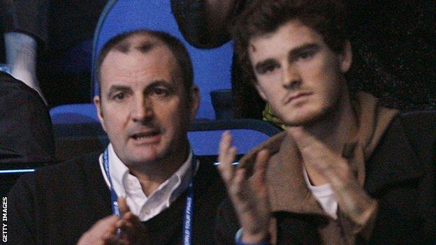 Jamie Murray and father Willie