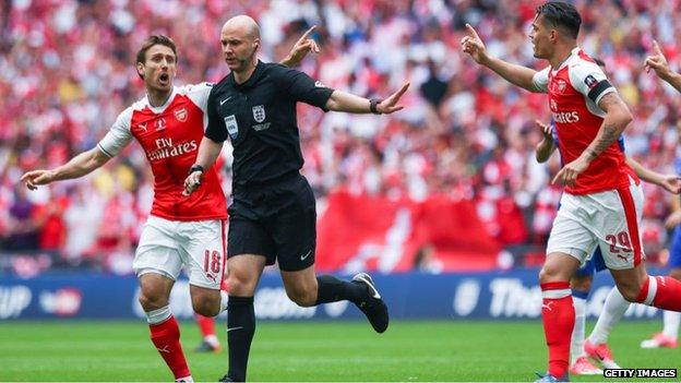 FA Cup Final: Anthony Taylor to referee second final - BBC Sport