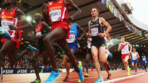 Hampden Park hosts the athletics events at the 2014 Commonwealth Games
