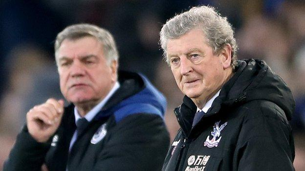 This was the first fixture in which two former England managers had faced one another in the Premier League since 2004