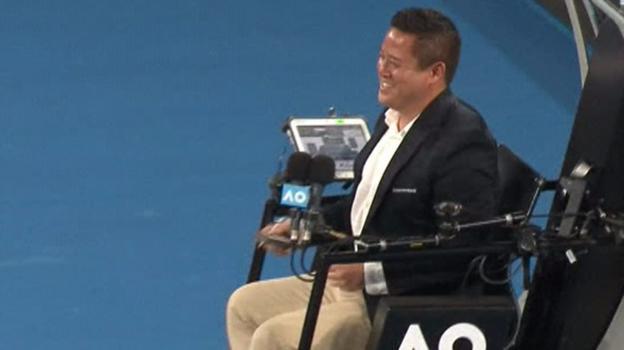 Australian Open 2018: Viktor Troicki hits umpire's head with ball