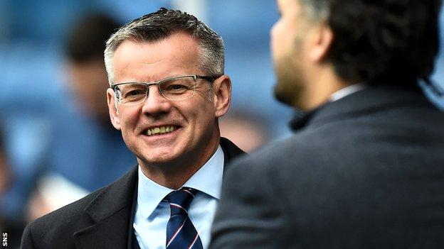 Rangers managing director Stewart Robertson gave the assurance at a meeting on Friday