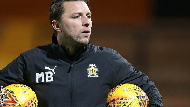 After becoming caretaker boss on 29 January 2020, Mark Bonner was then given the job on 9 March until the end of the 2021-22 season