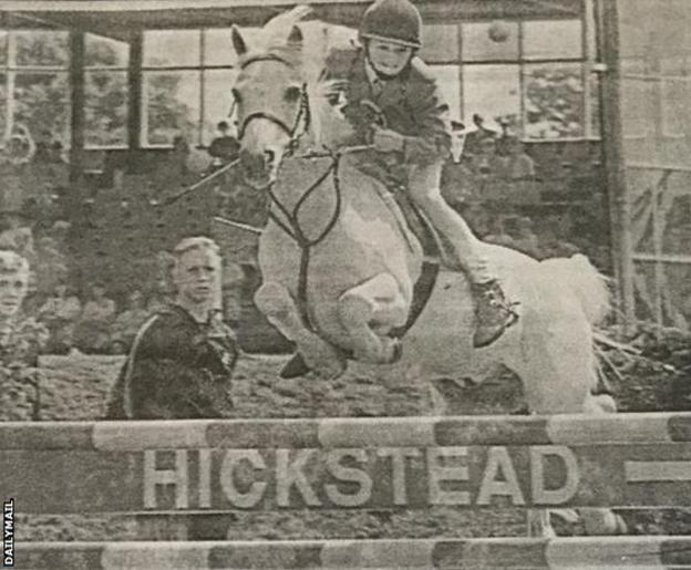 Shrewsbury manager Sam Ricketts was an accomplished horse rider as a child