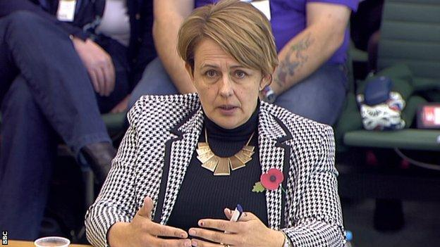 Grey-Thompson gave evidence to the select committee on Tuesday