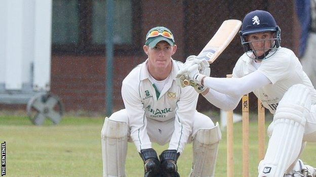 Staffordshire wicketkeeper Alex Mellor