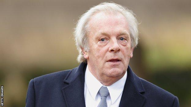 Professional Footballers' Association chief executive Gordon Taylor