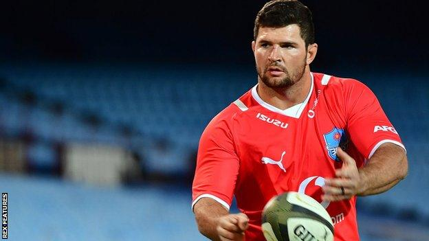 Marco van Staden could make his Leicester debut from the bench against London Irish