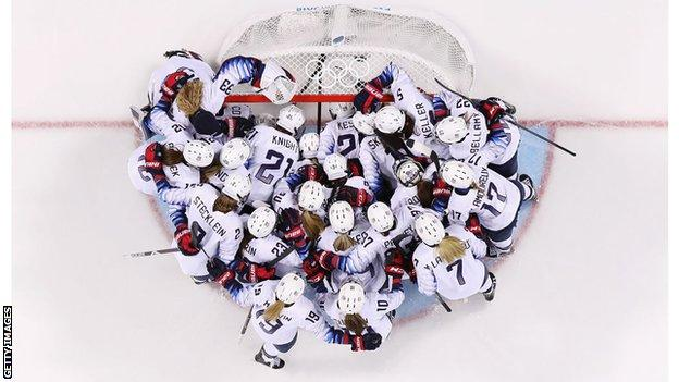 USA ice hockey team