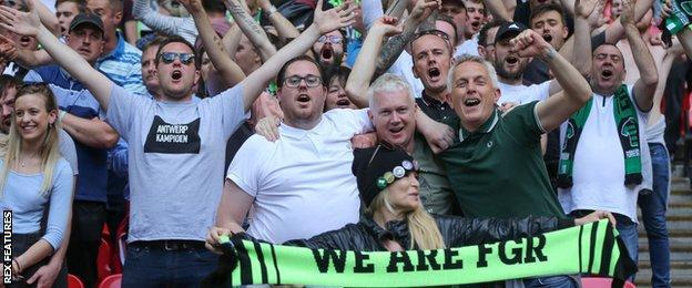 Forest Green fans