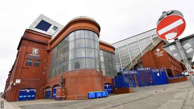 Sunday's Old Firm game at Ibrox is the first high-profile Scottish game to fall victim