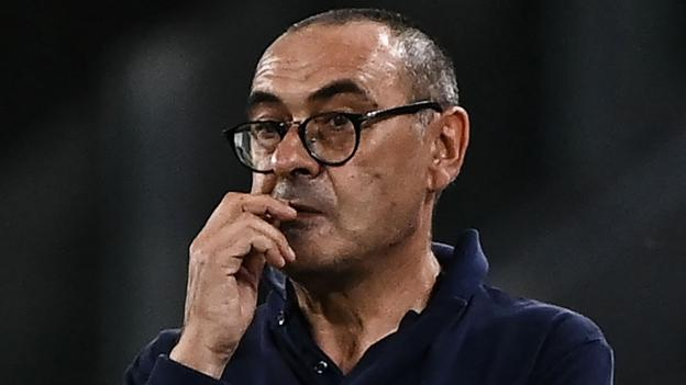 Juventus v Lyon: Maurizio Sarri dismisses concerns over future - bbc