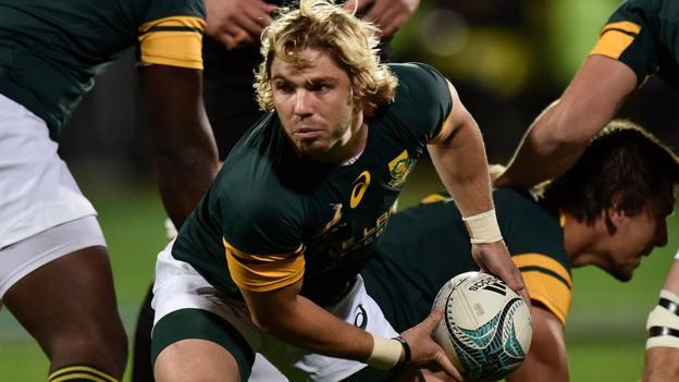 Faf de Klerk: Sale Sharks sign South Africa and Golden ...