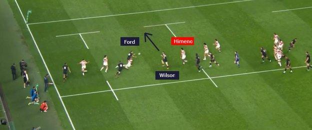 Wilson scored